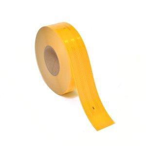 Ääreismerkintänauha Keltainen 50mm x 50m/rulla
