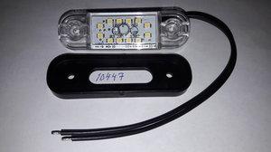 Äärivalo SAW Valkoinen 84x24x10 (12 LED)