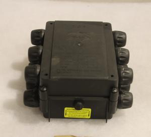 10057 elbox kompakt Aspöck förhöjd 14 uttag 24 V