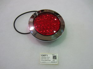 baklampa Jokon LED 24V rund 155mm Bak/stopp
