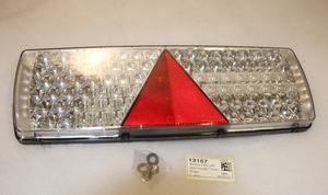 Takavalo LED 24V kolmiolla 7-kam  Oikea