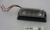 Blixtljus LED 1-rad x 4 12-24V  120x45x35 mm